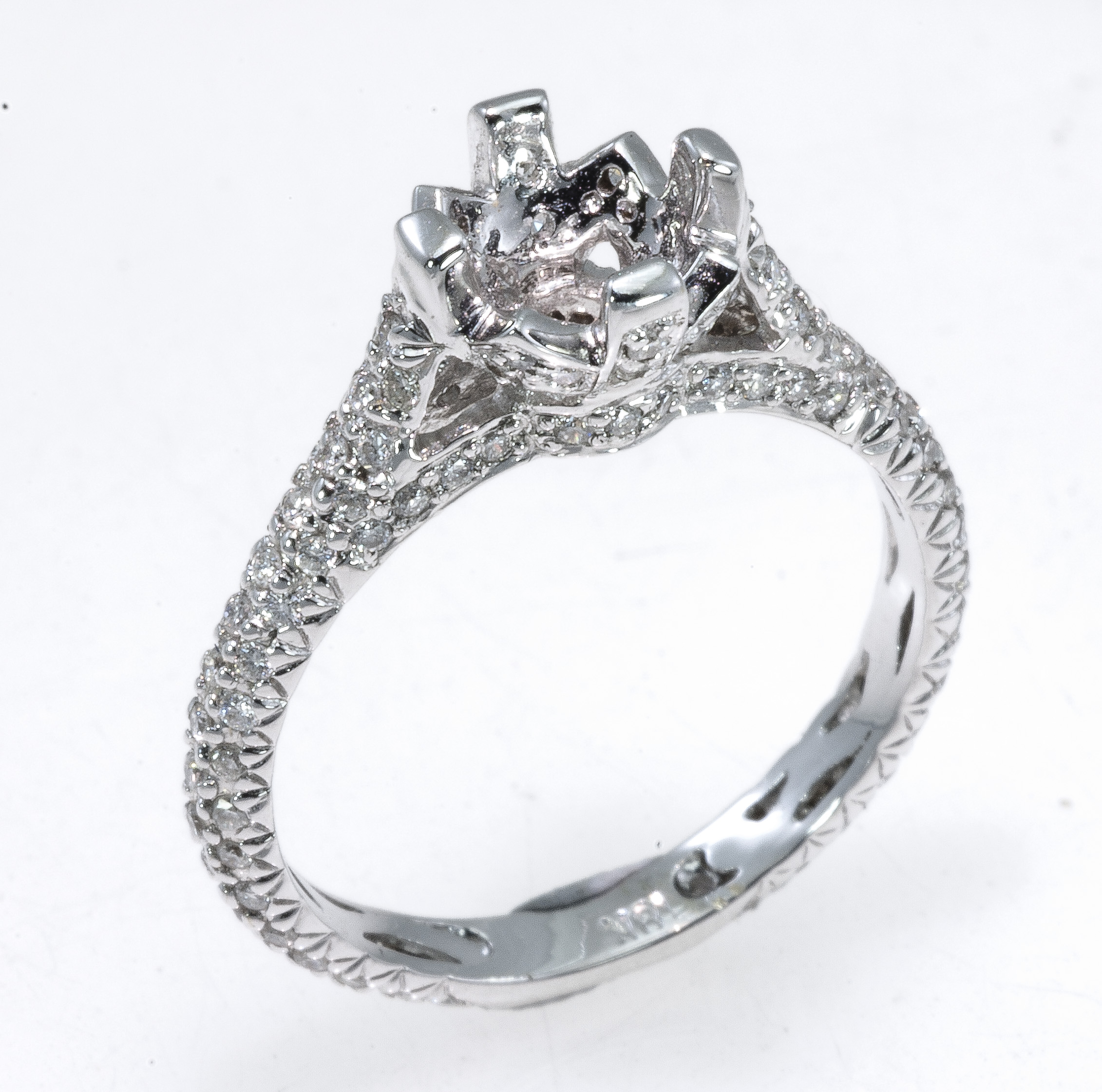 pave cut ring cushion price engagement carat micro halo rings